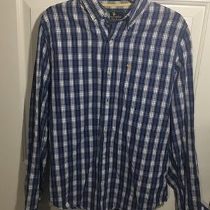 Abercrombie and Fitch Plaid Muscle Shirt Size L
